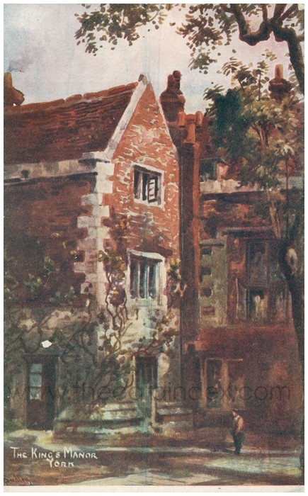 Postcard front: The King's Manor York