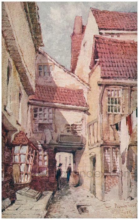 Postcard front: Pump Court York