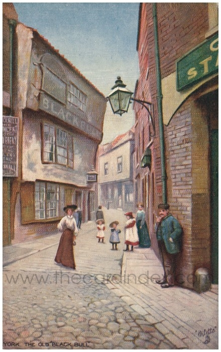 Postcard front: York. The Old