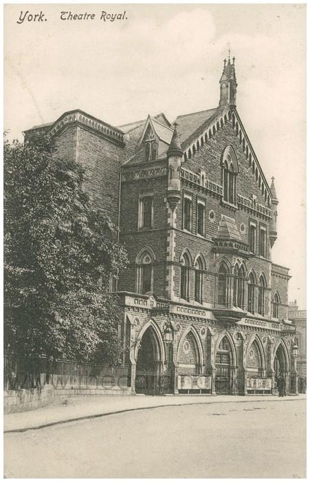 Postcard front: York. Theatre Royal