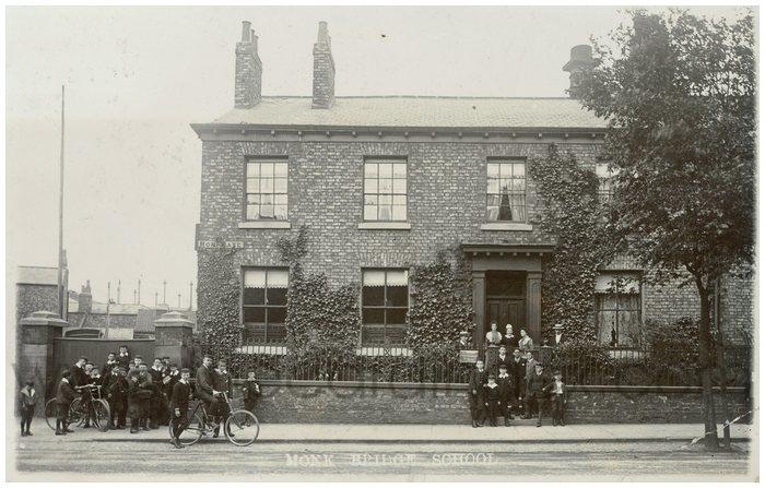 Postcard front: Monk Bridge School