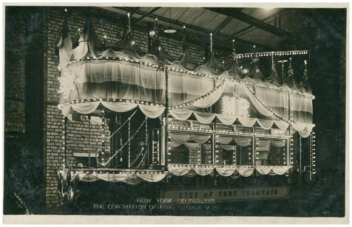 Postcard front: How York Celebrated the Coronation of King George V 22 June 11