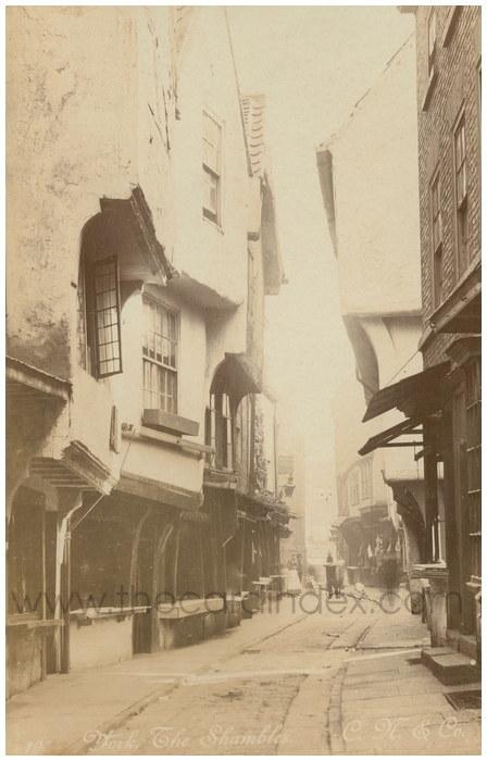 Postcard front: York The Shambles