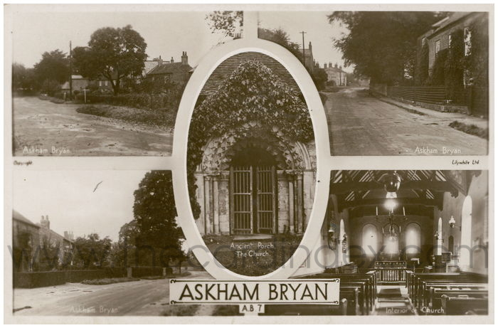 Postcard front: Askham Bryan