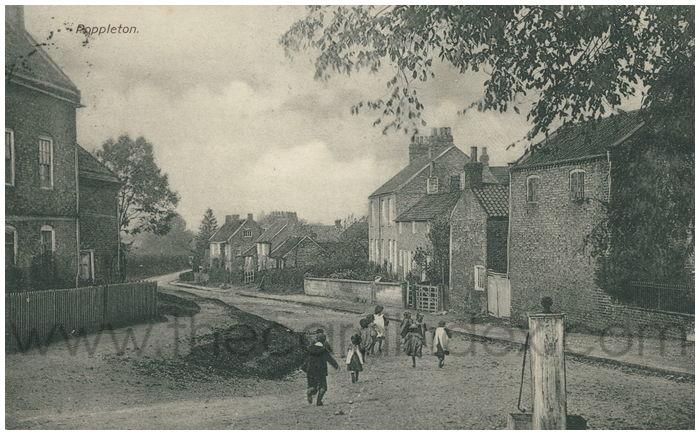 Postcard front: Poppleton