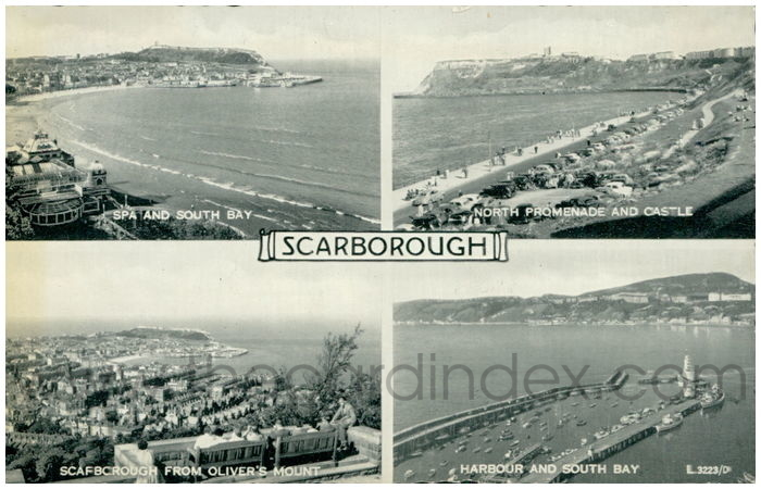Postcard front: Scarborough