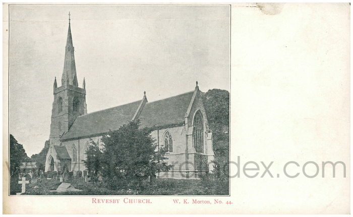 Postcard front: Revensby Church