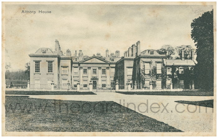 Postcard front: Althorp House