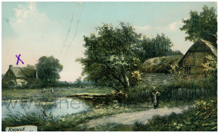 Postcard front: Knowle