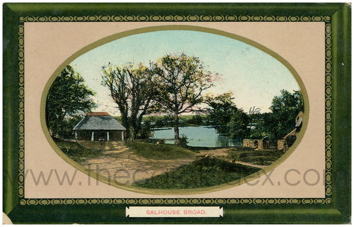 Postcard front: Salhouse Broad