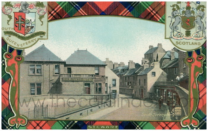Postcard front: South Queensferry