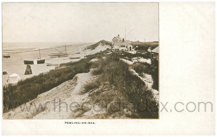 Postcard front: Pawling-on-Sea