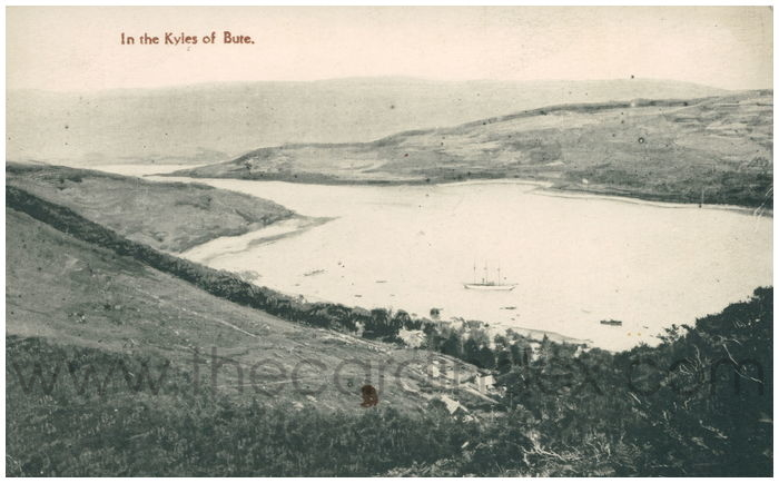 Postcard front: In the Kyles of Bute