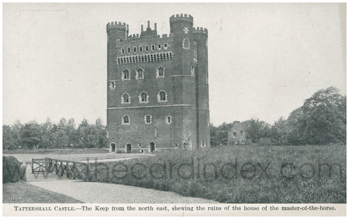 Postcard front: Tattershall Castle