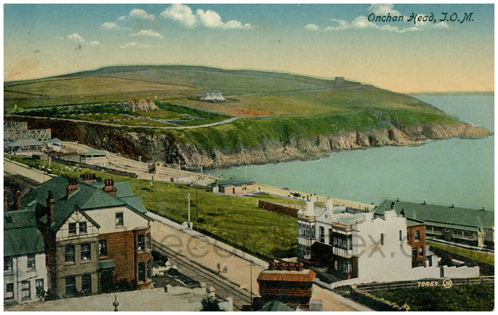 Postcard front: Onchan Head, I.O.M.