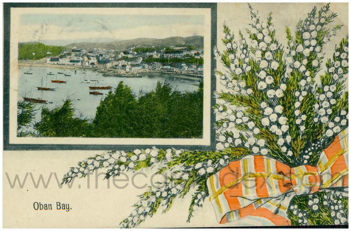 Postcard front: Oban Bay
