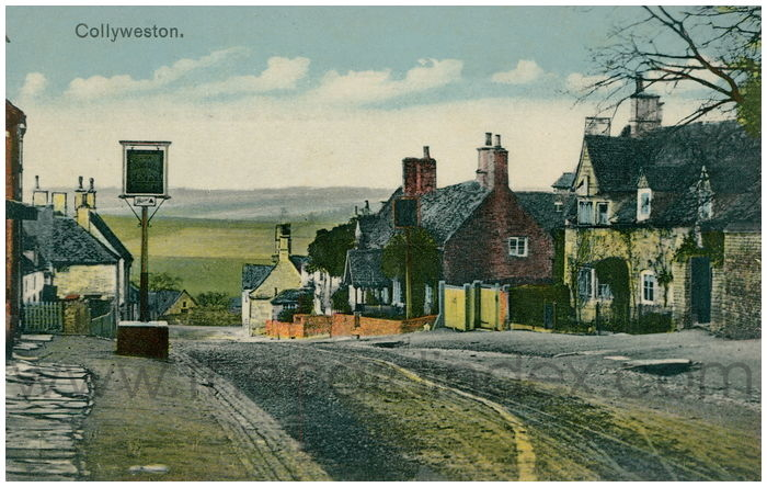 Postcard front: Collyweston.