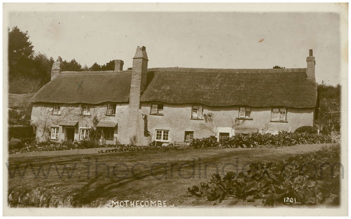 Postcard front: Mothecombe