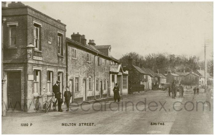 Postcard front: Melton Street.