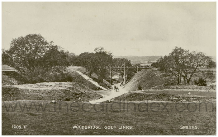 Postcard front: Woodbridge Golf Links.