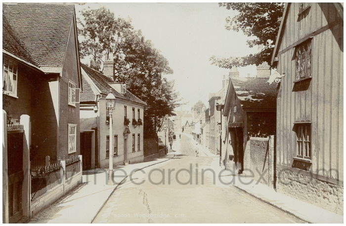 Postcard front: Woodbridge