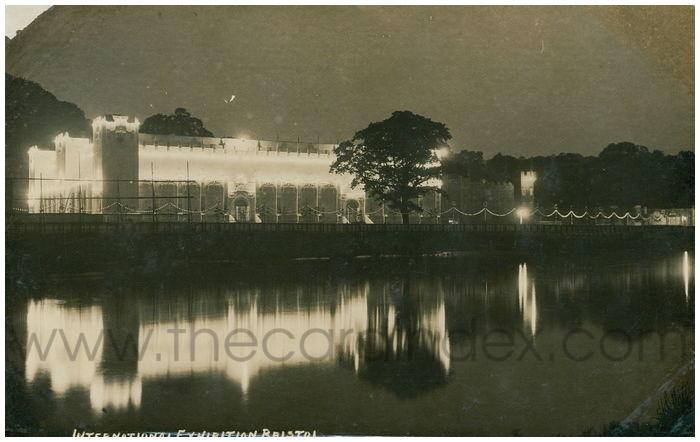 Postcard front: International Exhibition Bristol