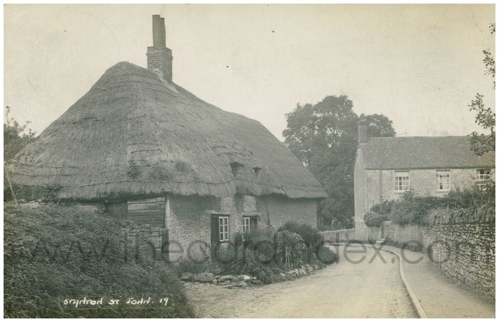 Postcard front: Stanton St John