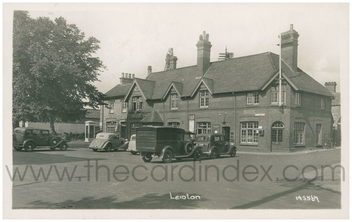 Postcard front: Leiston