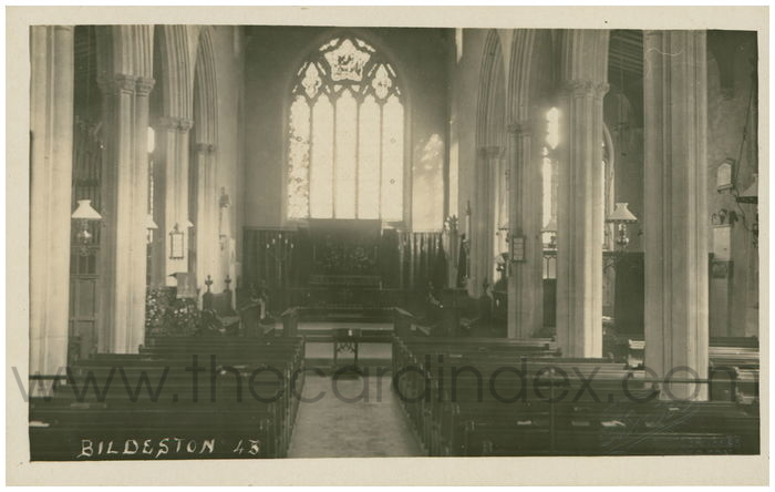 Postcard front: Bildeston