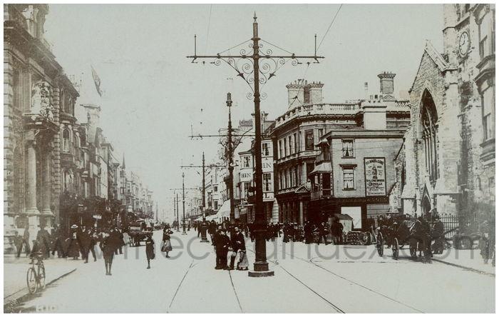 Postcard front: High Street....?