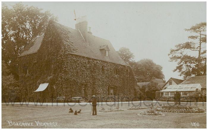 Postcard front: Boxgrove Vicarage