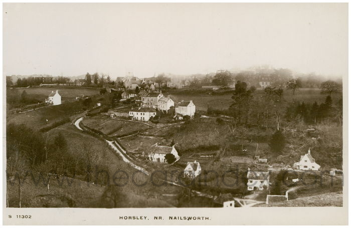 Postcard front: Horsley, Nr. Nailsworth