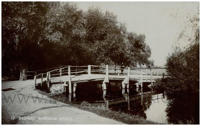 Postcard front: Bedford, Newham Bridge
