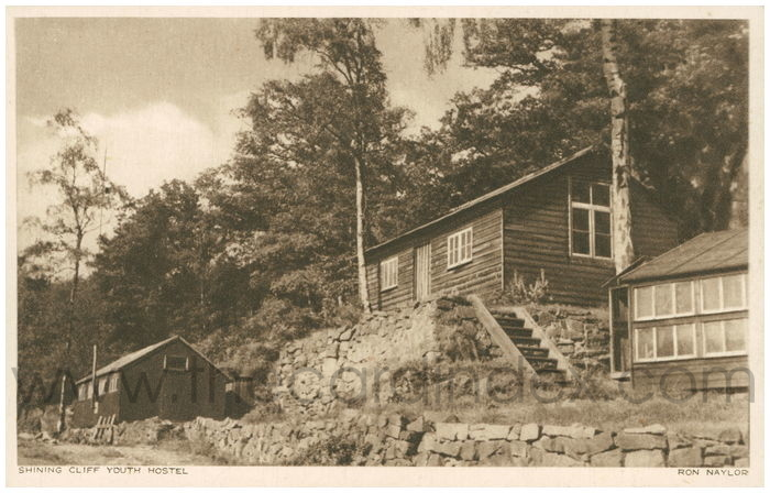 Postcard front: Shining Cliff Youth Hostel