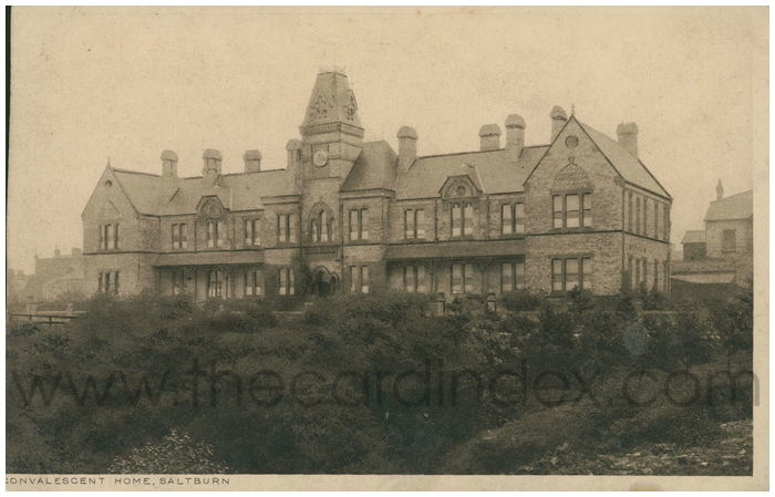 Postcard front: Convalescent Home, Saltburn