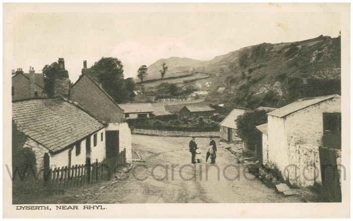 Postcard front: Dyserth, Near Rhyl.