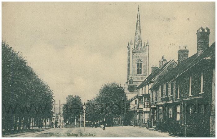 Postcard front: Windhill, Bishop Stortford