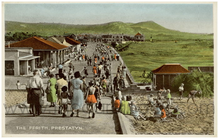 Postcard front: The Ffrith, Prestatyn