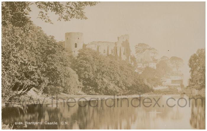 Postcard front: Barnard Castle C.N.