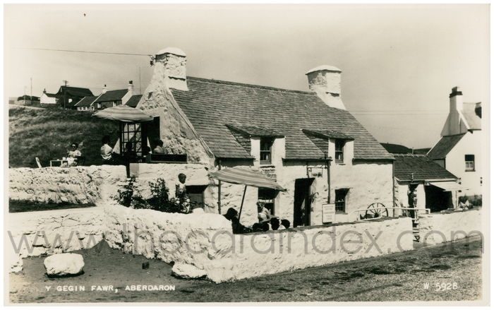 Postcard front: Y Gegin Fawr, Aberdaron