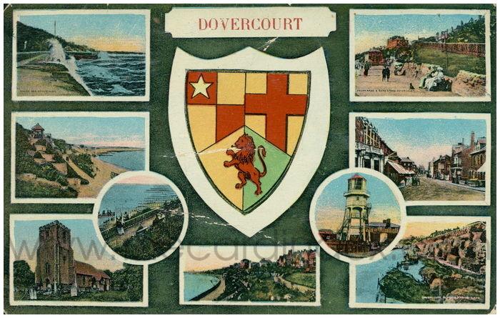 Postcard front: Dovercourt