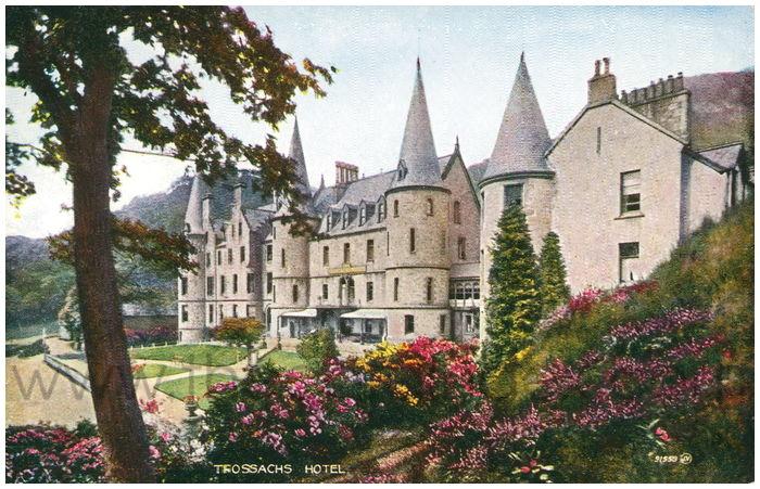 Postcard front: Trossachs Hotel