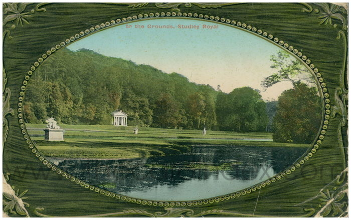 Postcard front: In the Grounds, Studley Royal