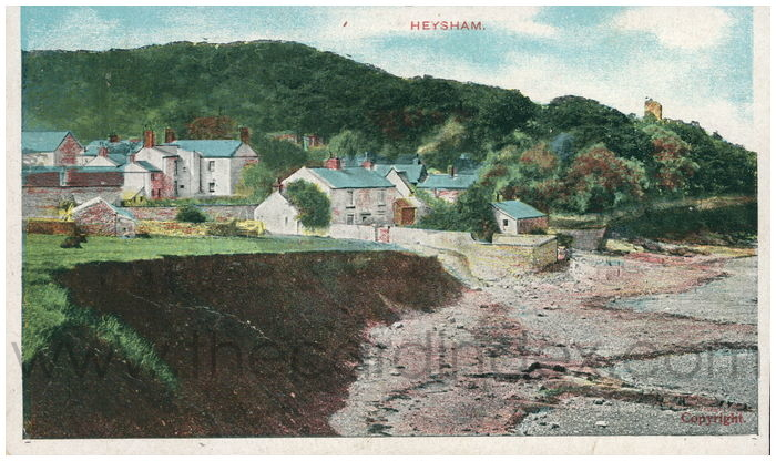 Postcard front: Heysham.