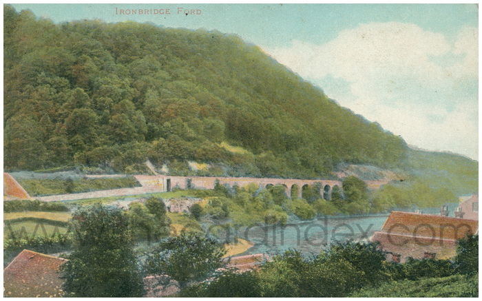 Postcard front: Ironbridge Ford