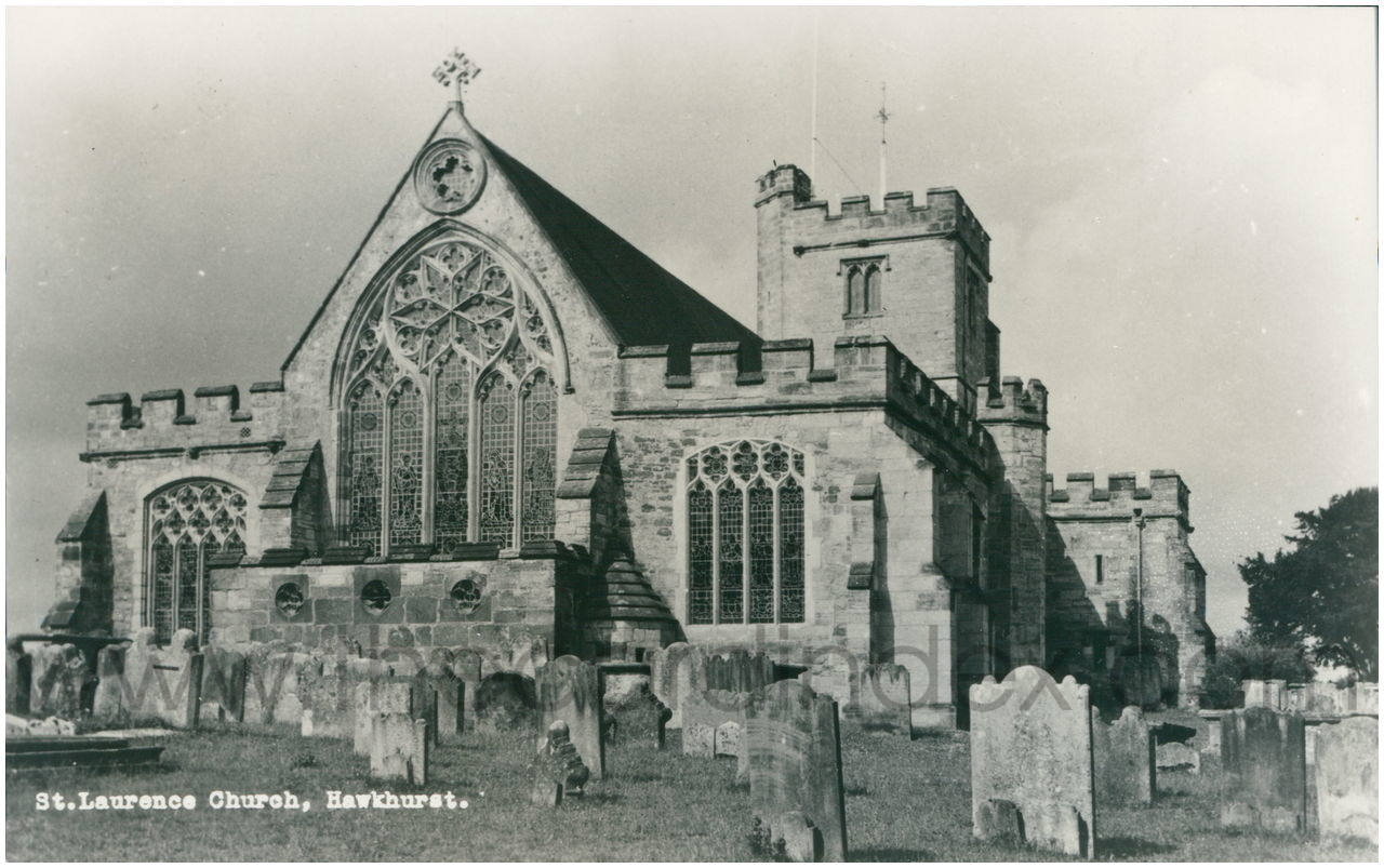 Image result for 1900 church hawkhurst, england