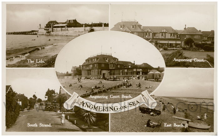 Postcard front: Angmering-on-Sea