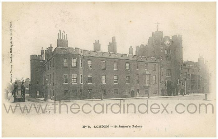 Postcard front: London - St-James's Palace