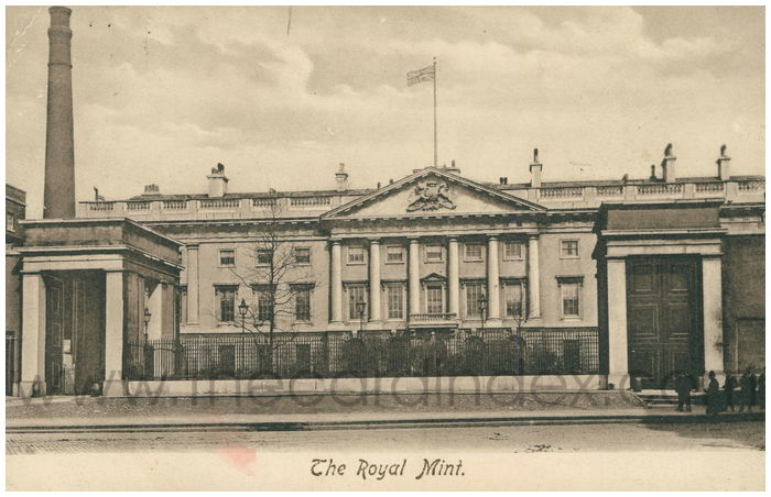 Postcard front: The Royal Mint.