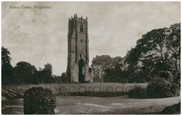 Postcard front: Friary Tower, Richmond